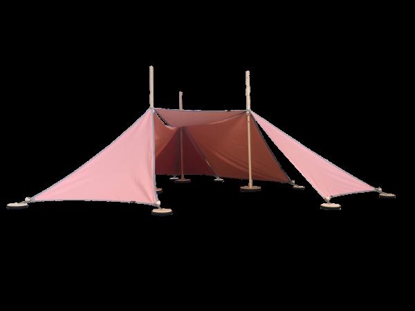 Abel 3 pink, Spielzelt